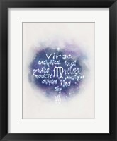 Starlight Astology Virgo Fine Art Print