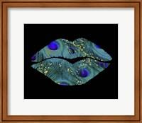 Peacock Kiss Fine Art Print