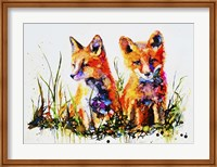 The Redhead Twins Fine Art Print