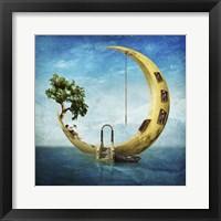 Home Sweet Moon Fine Art Print