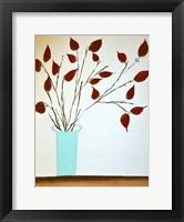 Rich Red Leaves Fine Art Print