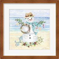 Coastal Christmas F Fine Art Print
