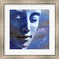 The Statue Face Fine Art Print