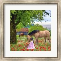 Love The Horses Fine Art Print