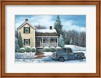 Winter Blues Fine Art Print