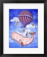 Flying Whale Circus Fine Art Print