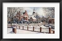 Winter in Annapolis Fine Art Print