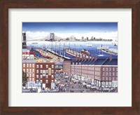 SouthStreet Seaport Fine Art Print