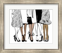 Girlfriends Fine Art Print