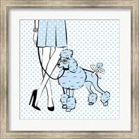 Poodle dog Fine Art Print