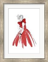 Red Lady Fine Art Print