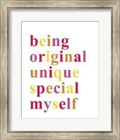 Being Original Fine Art Print