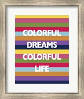 Colorful Life Fine Art Print