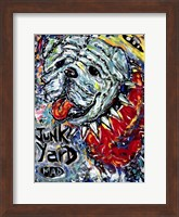 Junk Yard MAD Dog Fine Art Print