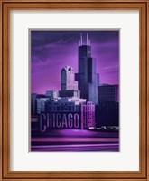 Violet Chicago Fine Art Print