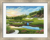 Last Foursome of the Day Fine Art Print