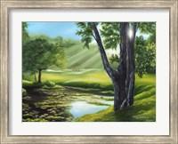 Morning Dew on the Green Fine Art Print