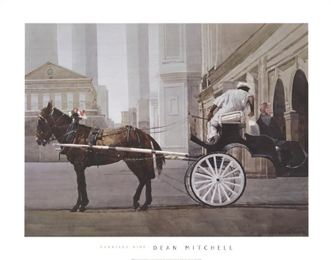Framed Carriage Ride Print