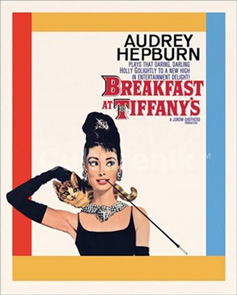 Framed Breakfast at Tiffany's Print