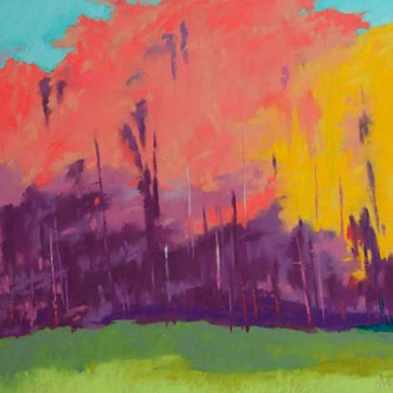 Framed Bright View No. 2 Print