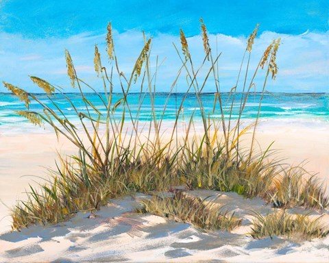 Framed Beach Grass Print