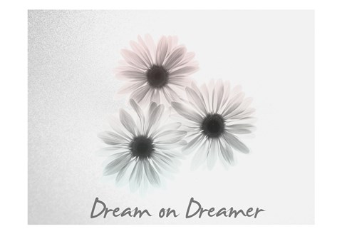 Framed Dream on Dreamer Margarithe Print