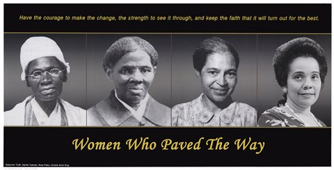 Framed Women Who Paved the Way Print