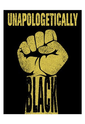 Framed Unapologetically Black Print