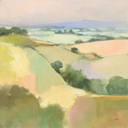 Framed Dream Valley I Print