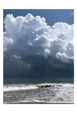 Framed Stormy Clouds Print