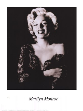Marilyn Monroe - dark portrait Fine Art Print by Unknown at ...