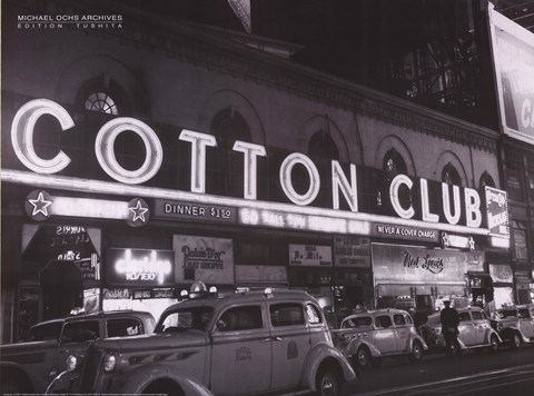 Framed Cotton Club Print