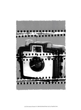 Framed Camera Chrome II Print