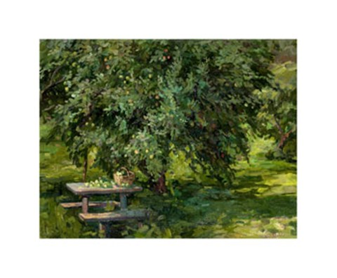 Framed Under the Apple Tree Print