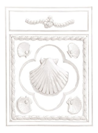 Framed Shell Panel Print