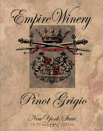Framed Empire Winery Print