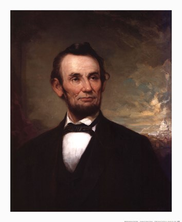 Abraham Lincoln Fine Art Print by George Henry Story at ...