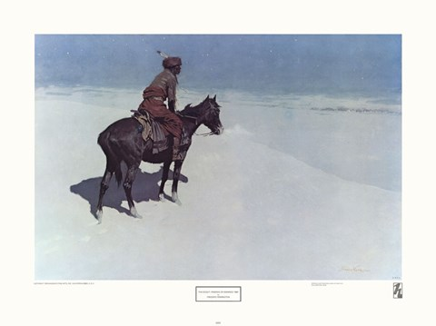 The Scout: Friends or Enemies by Frederic Remington