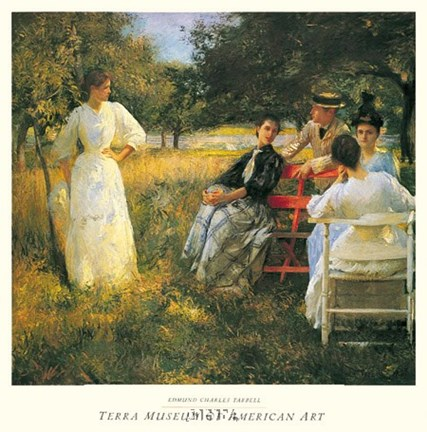 Framed In The Orchard, 1891 Print