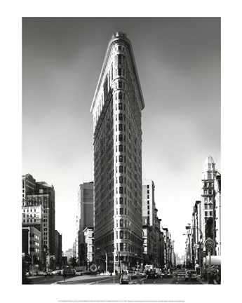 Framed New York, New York, Flatiron Building Print
