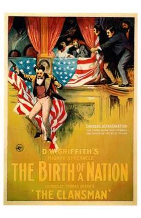 Framed Birth of a Nation America Print