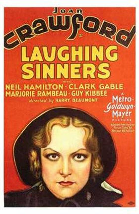 Framed Laughing Sinners Print