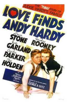 Framed Love Finds Andy Hardy Print