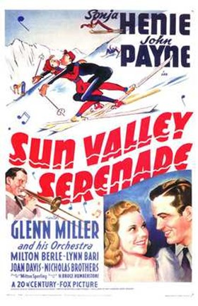Framed Sun Valley Serenade Print