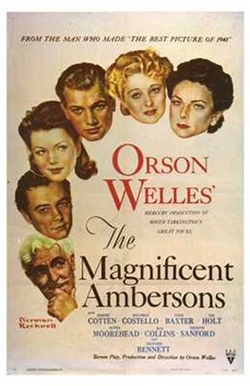 Framed Magnificent Ambersons Print