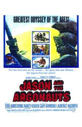 Framed Jason and the Argonauts Todd Armstrong Print