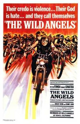 Framed Wild Angels Print