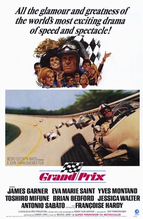 Framed Grand Prix Print
