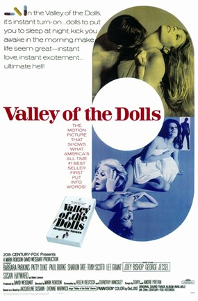 Framed Valley of the Dolls - movie Print