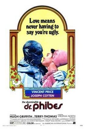 Framed Abominable Dr Phibes Print